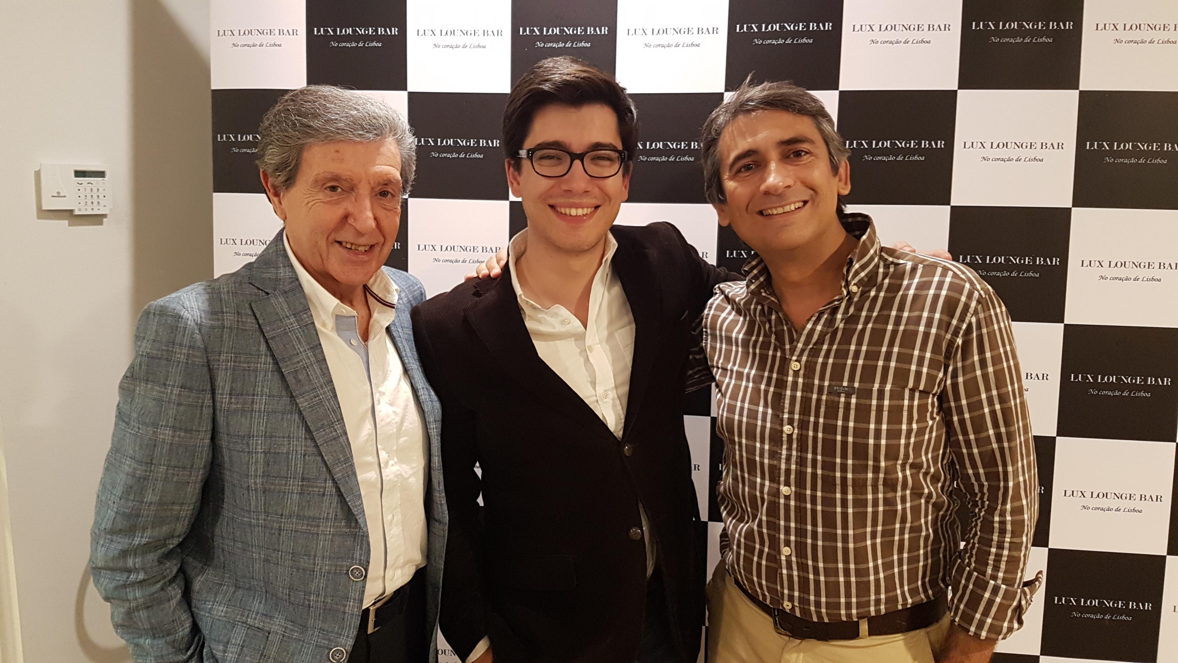 Edgar, André e Pedro Luis