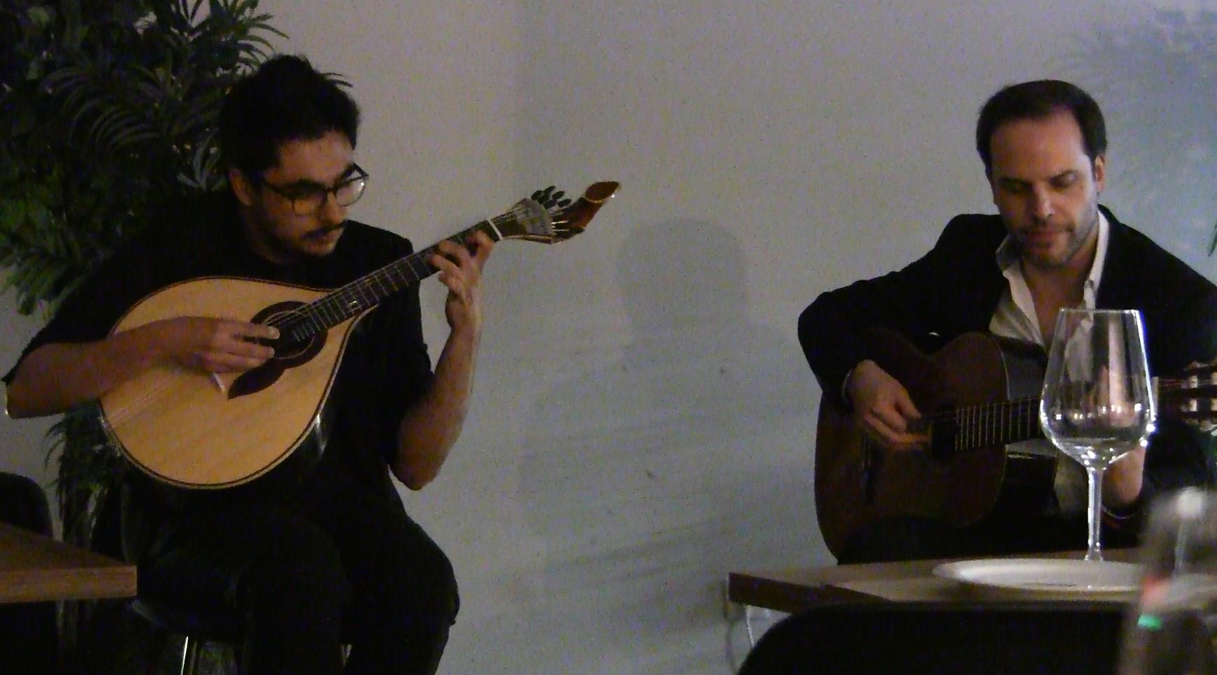 Bruno Chaveiro e Carlos Viçoso