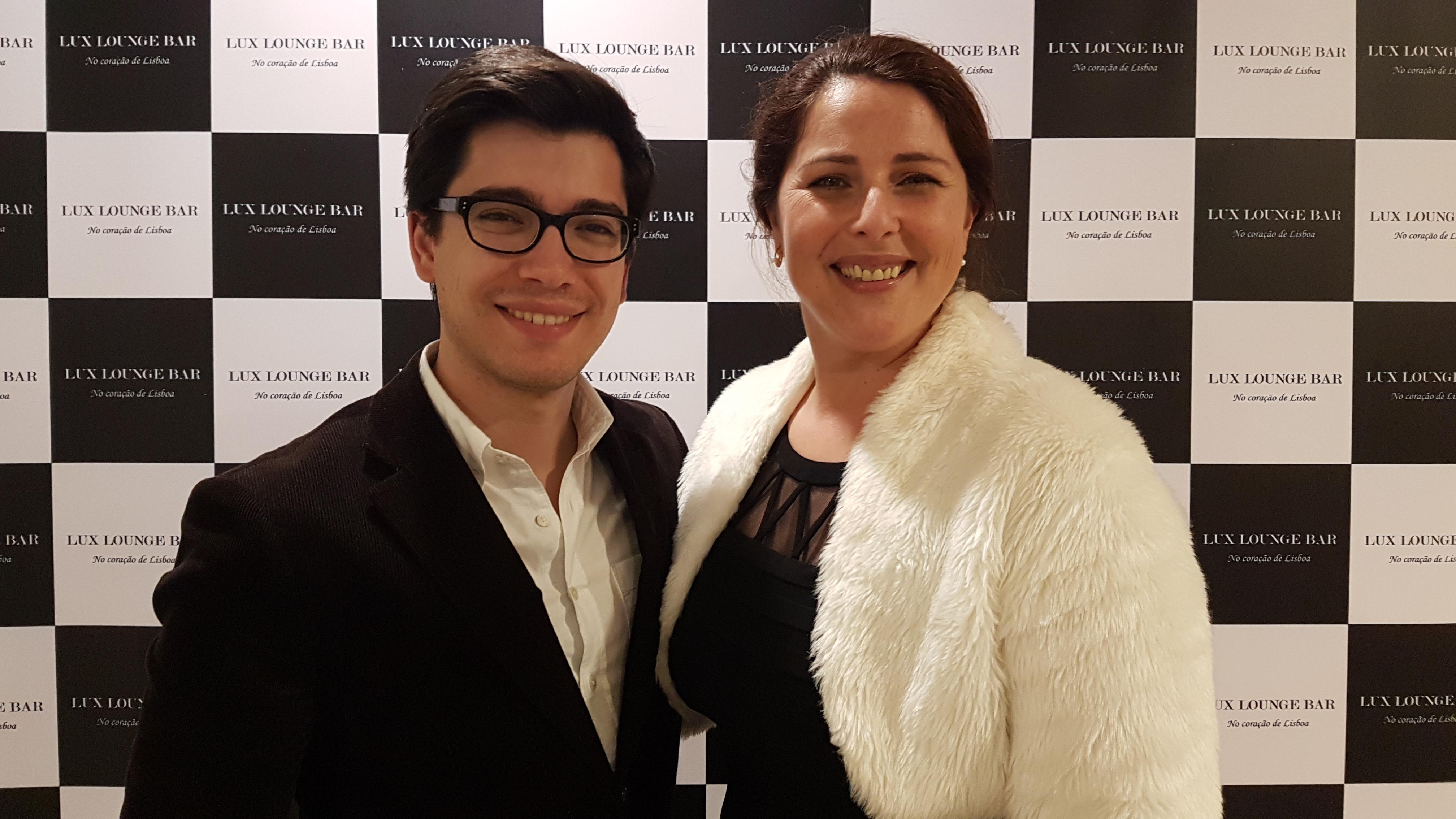 André Gomes e Teresa Tapadas