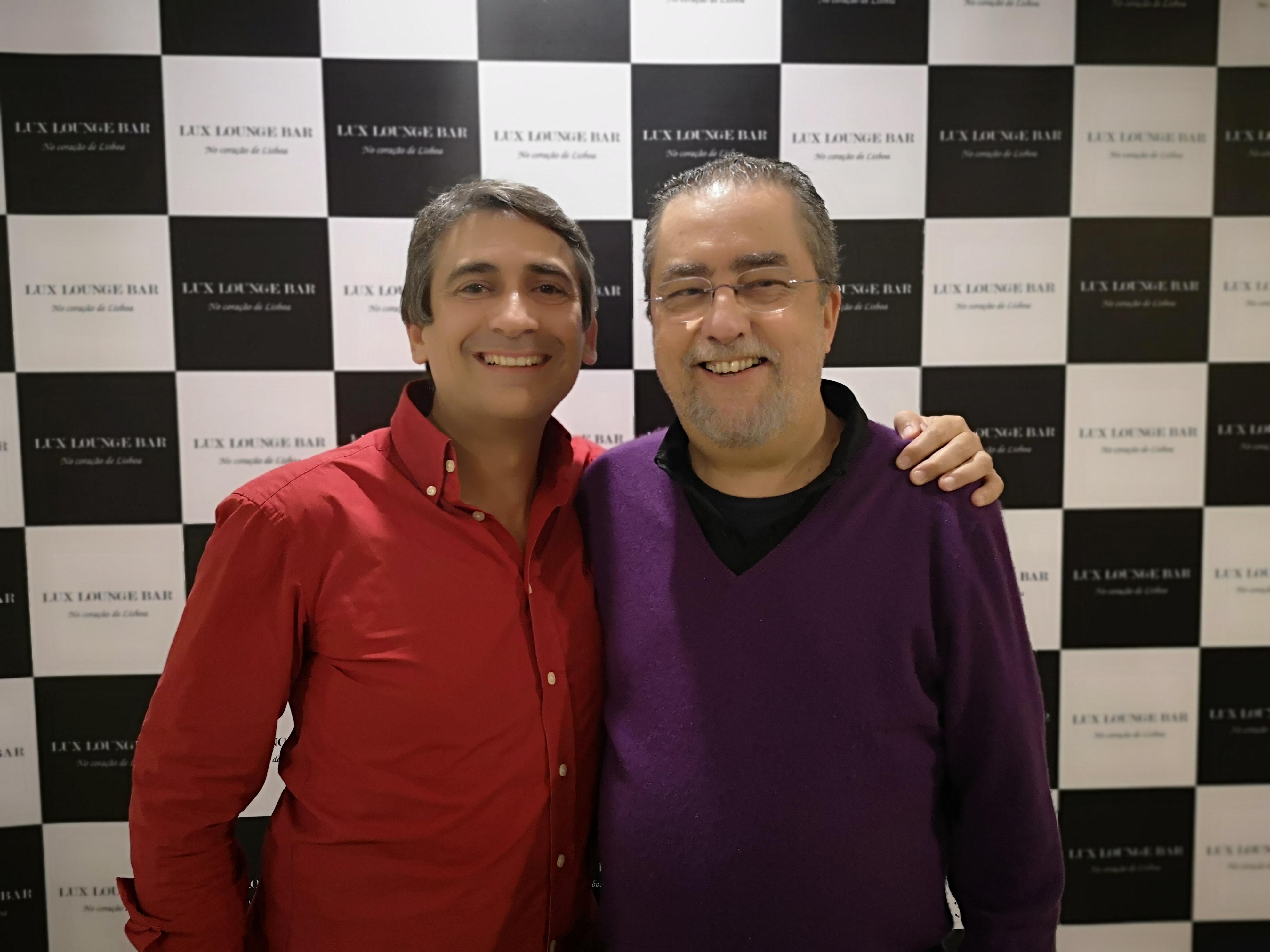 Pedro Luis e Mário Sérgio