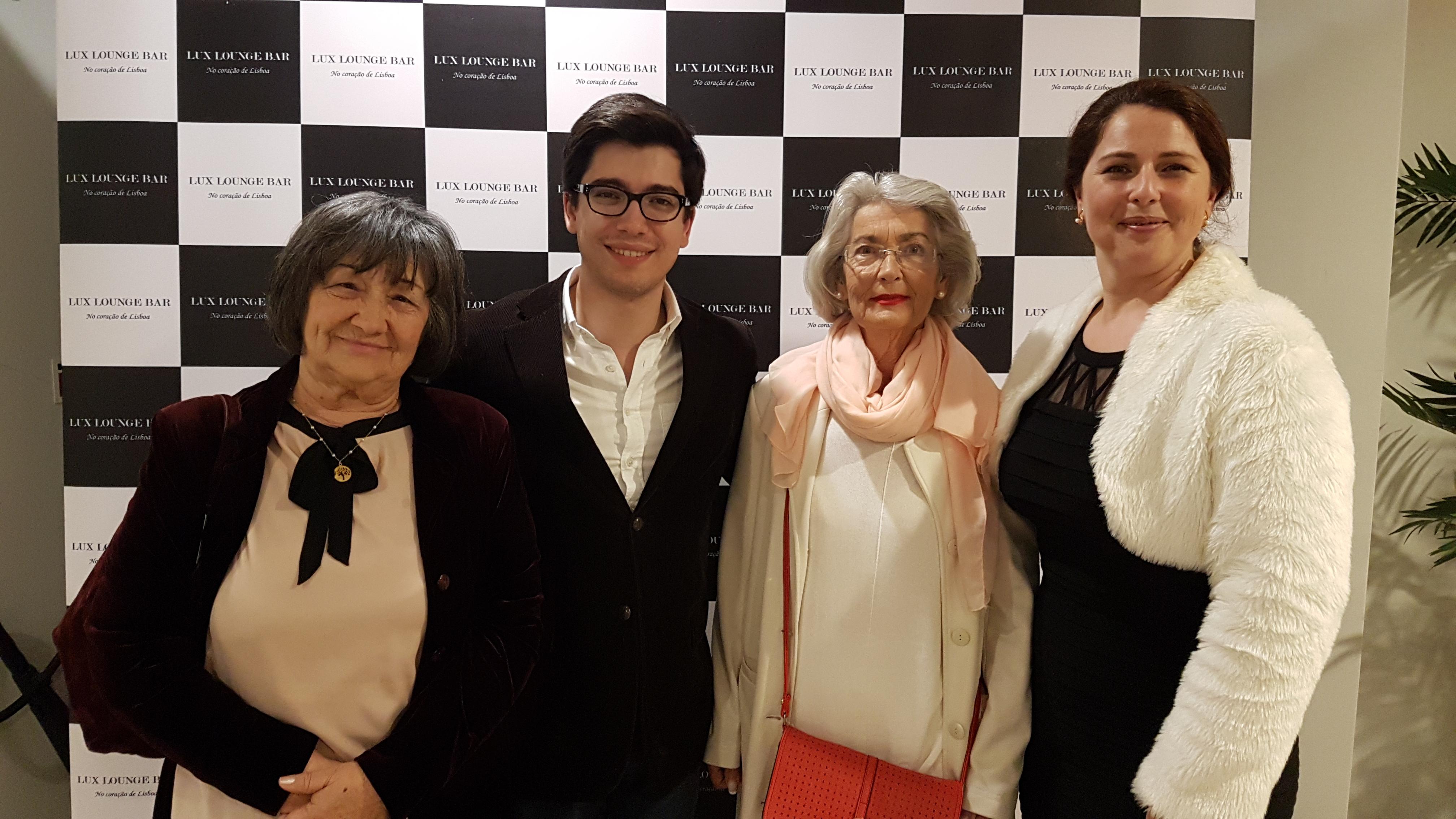 Fernanda, André, Adília e Teresa