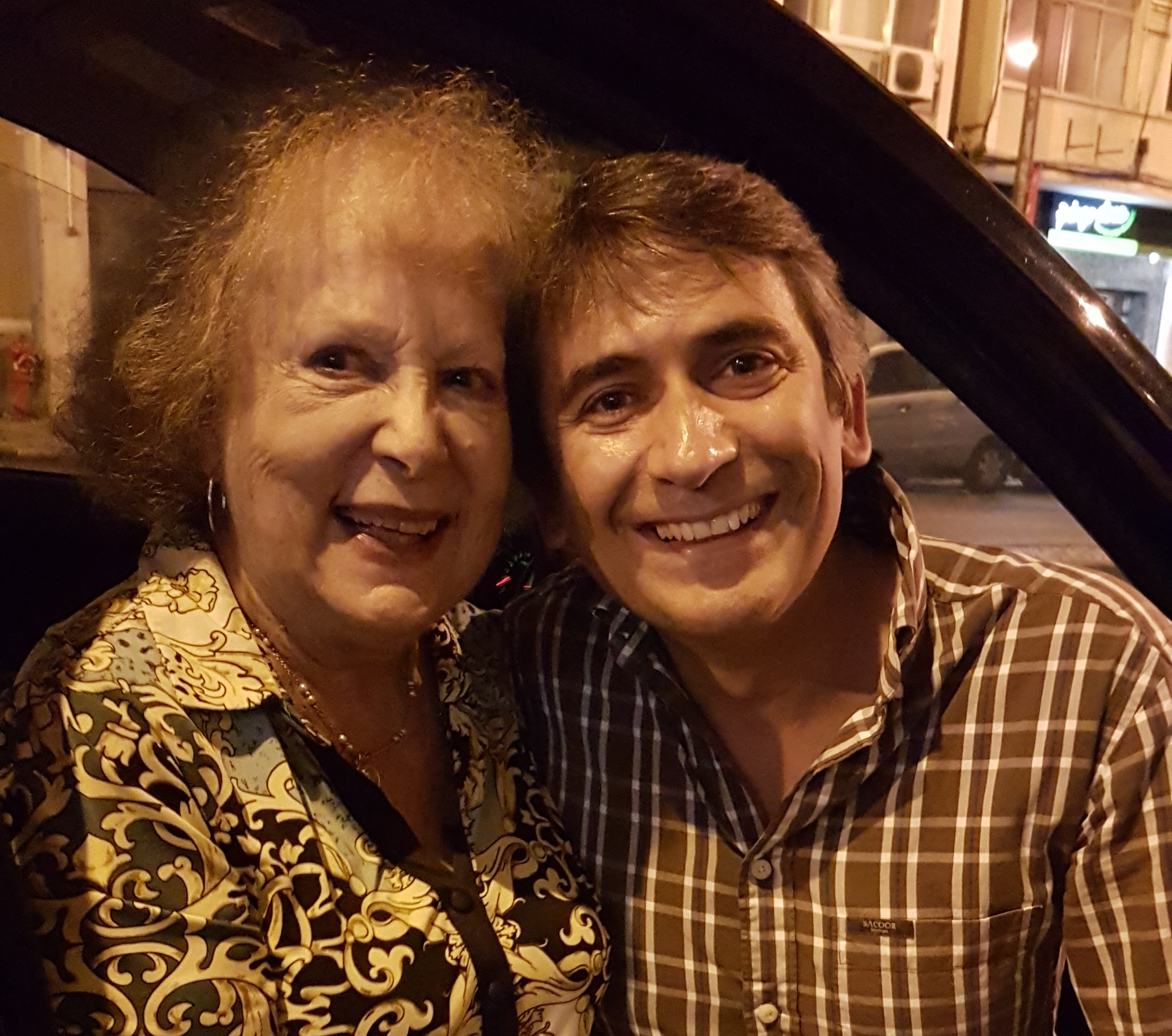 Paula Ribas e Pedro Luis