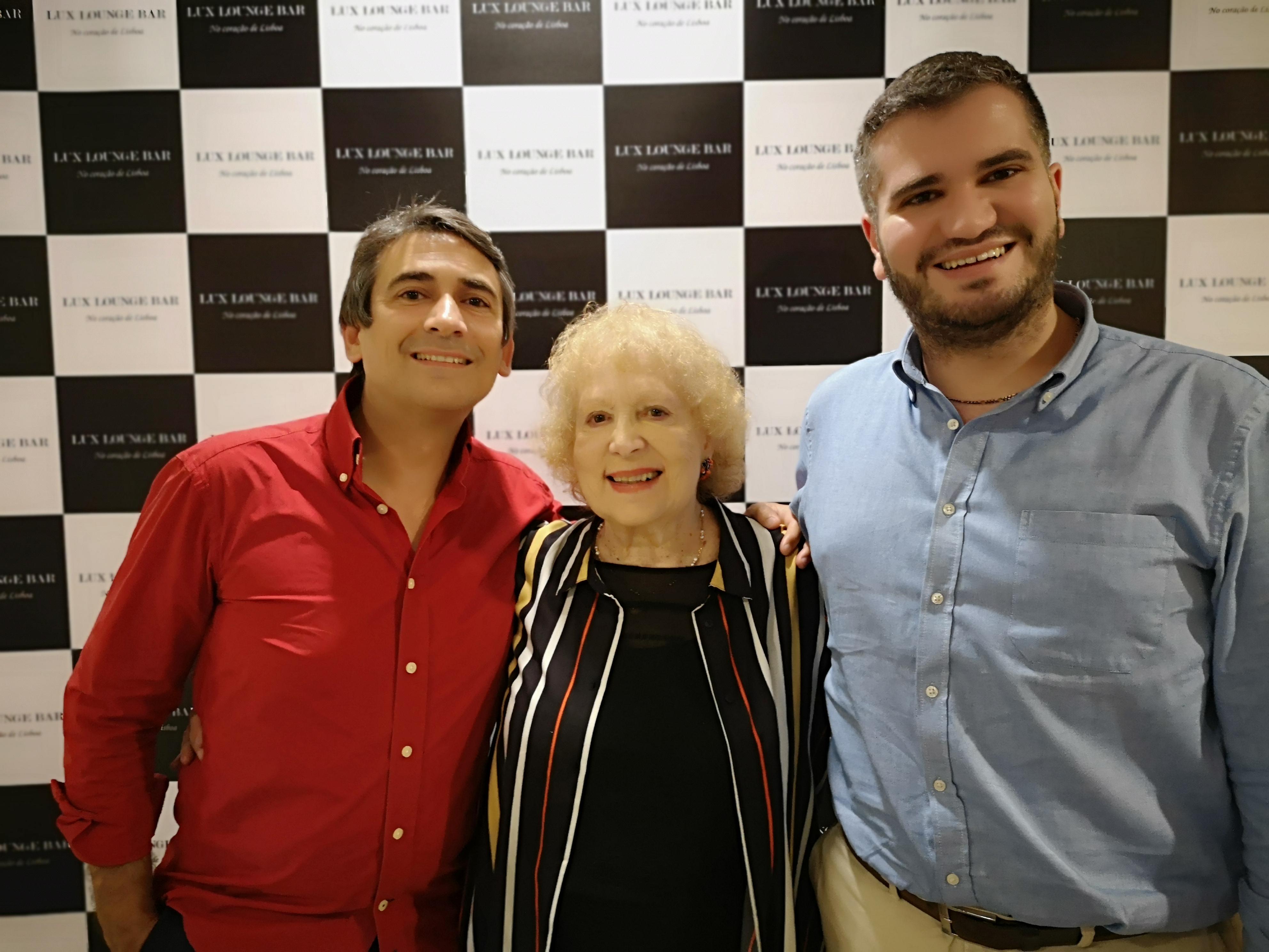 Pedro, Paula Ribas e Helder