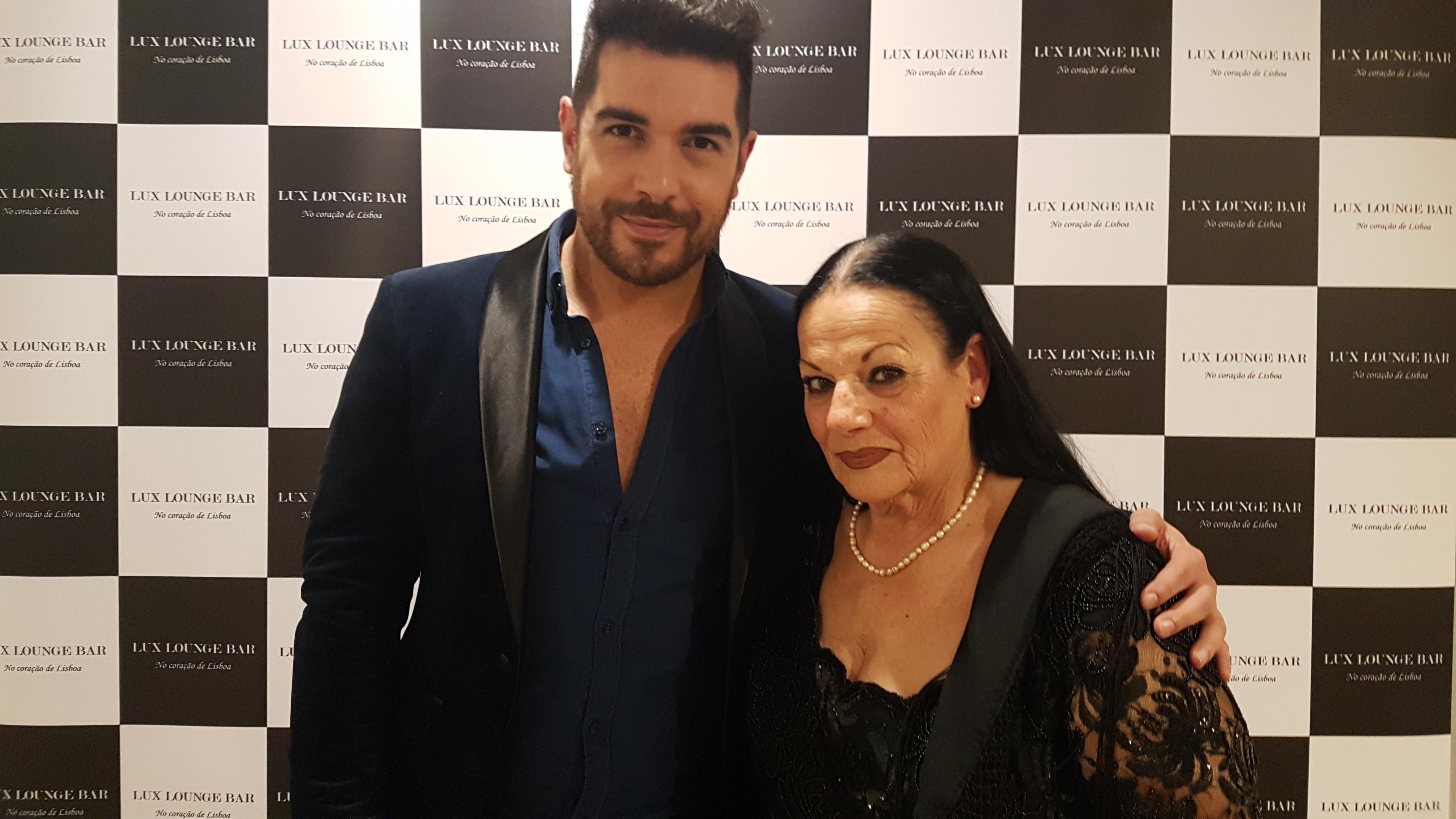 Marcelo Rebelo Costa e Tina Santos