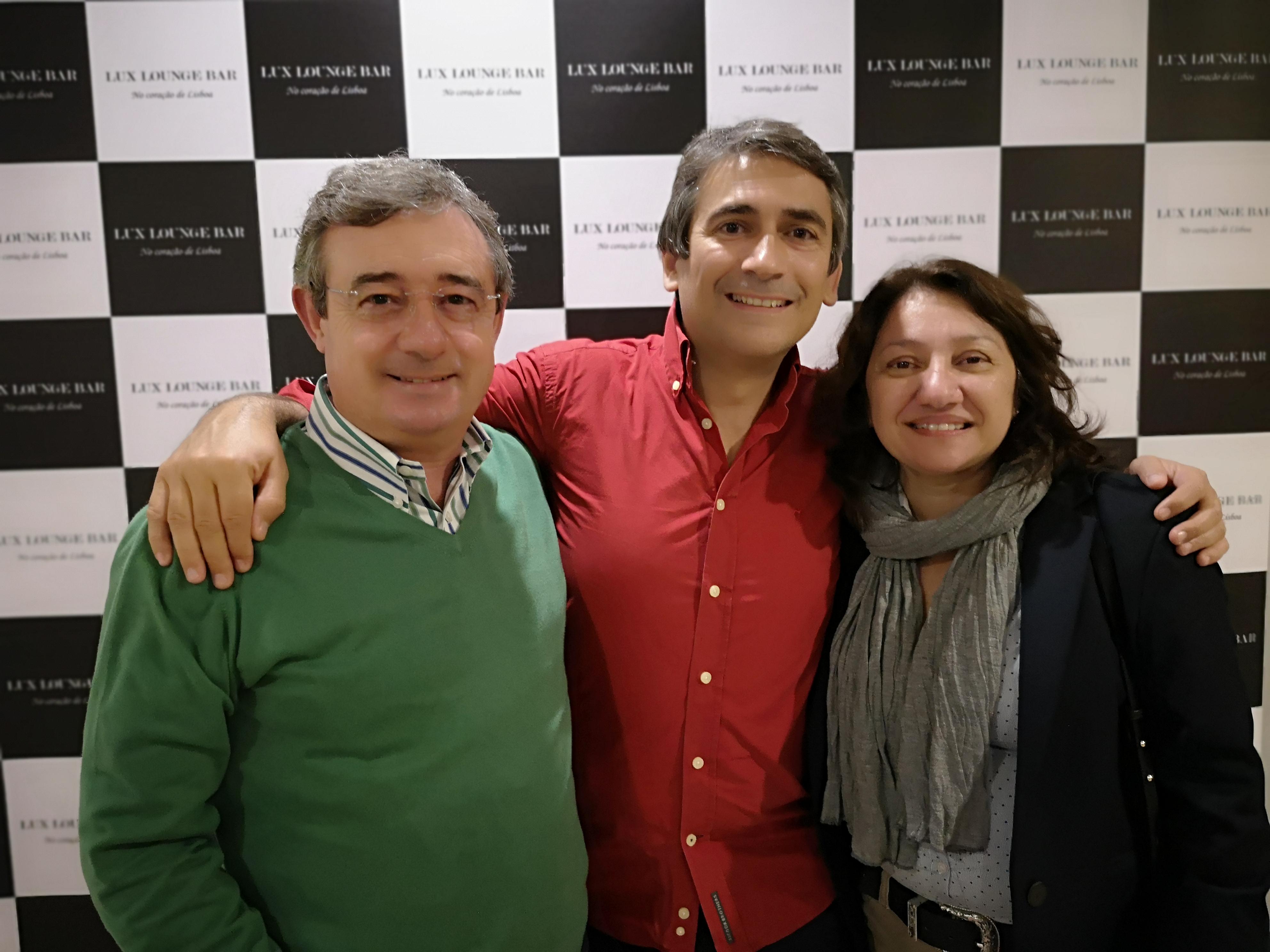 Luís Aleluia, Pedro e Zita Favretto