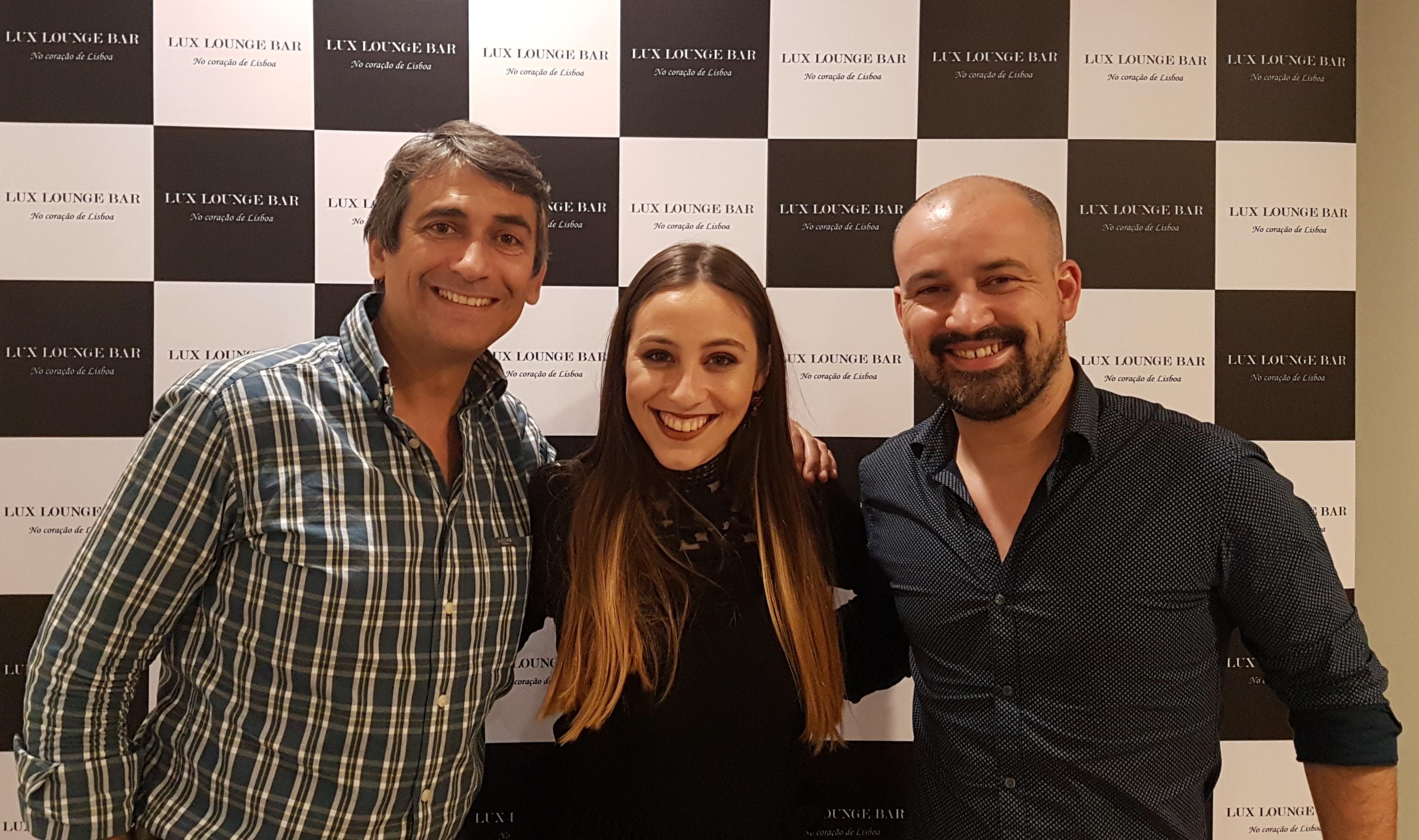 Pedro Luis, Beatriz e João Gomes