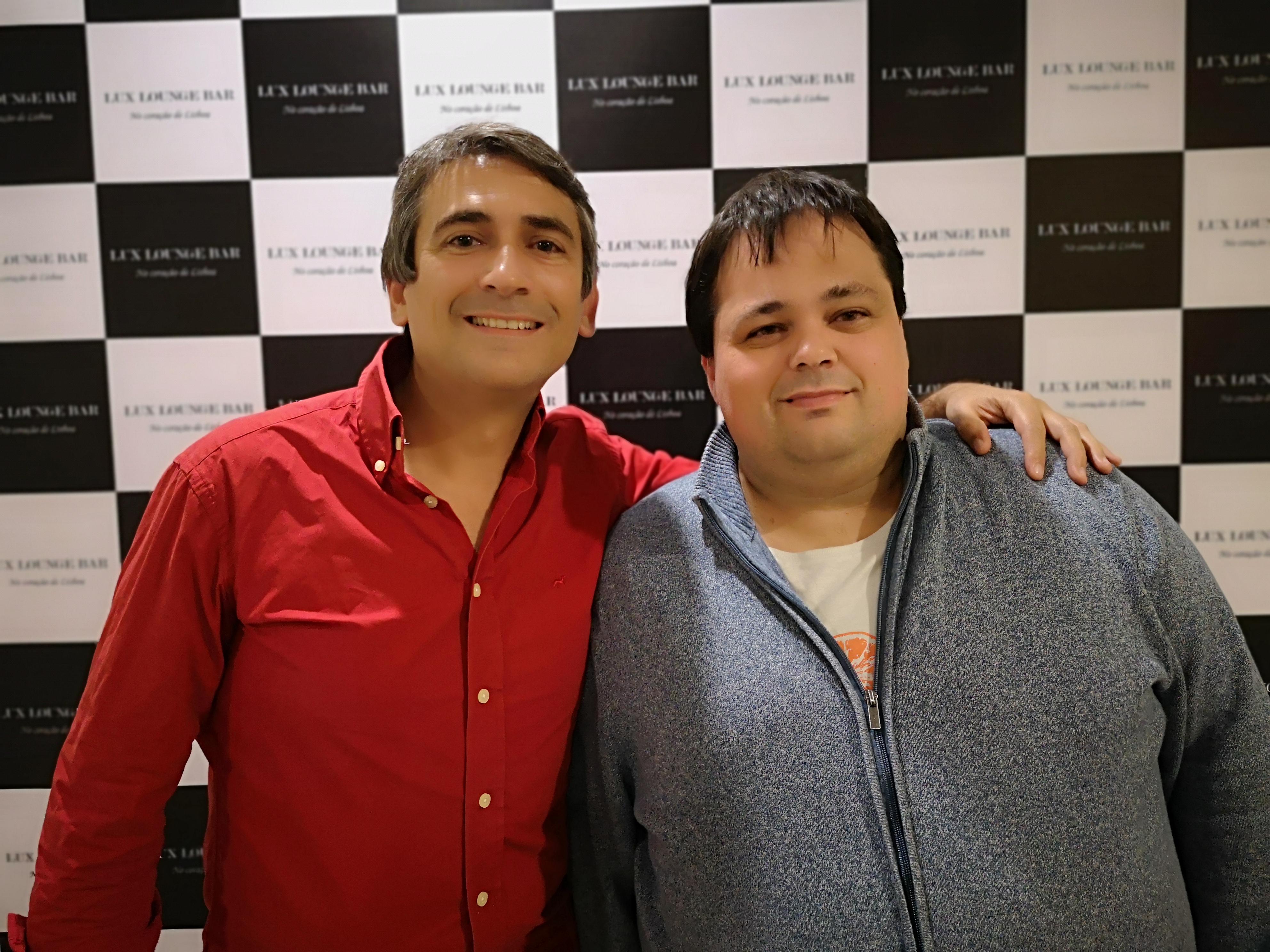 Pedro Luis e Rui Martinez