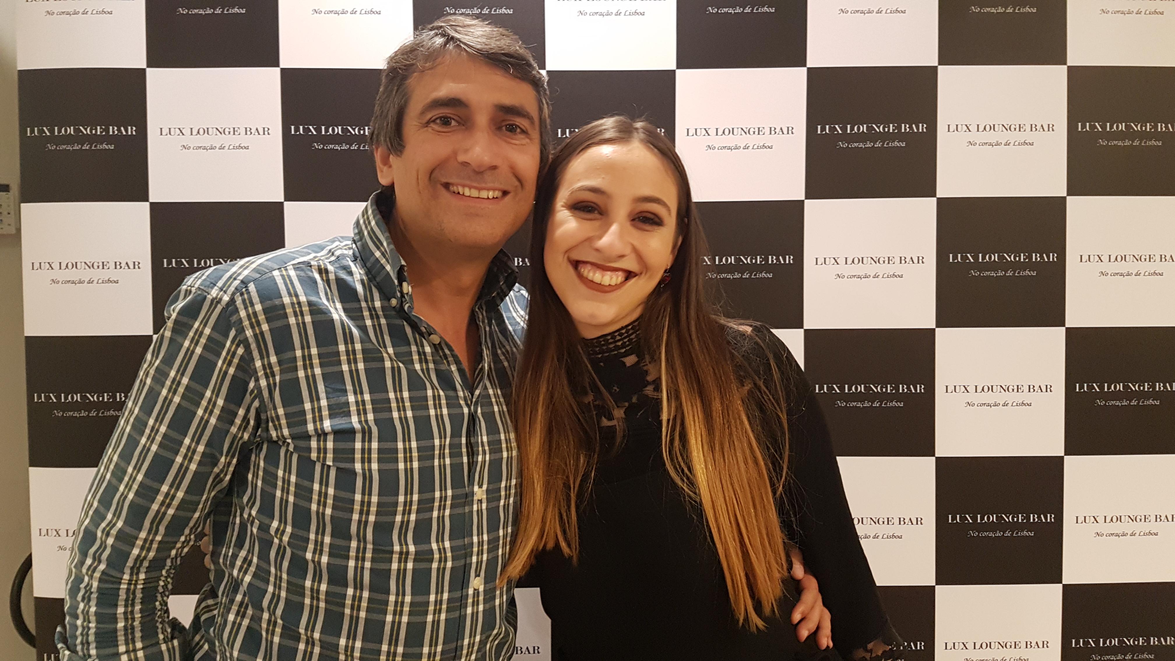 Pedro Luis e Beatriz Felizardo