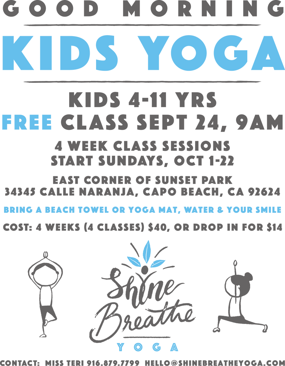 GOOD MORNING KIDS YOGA