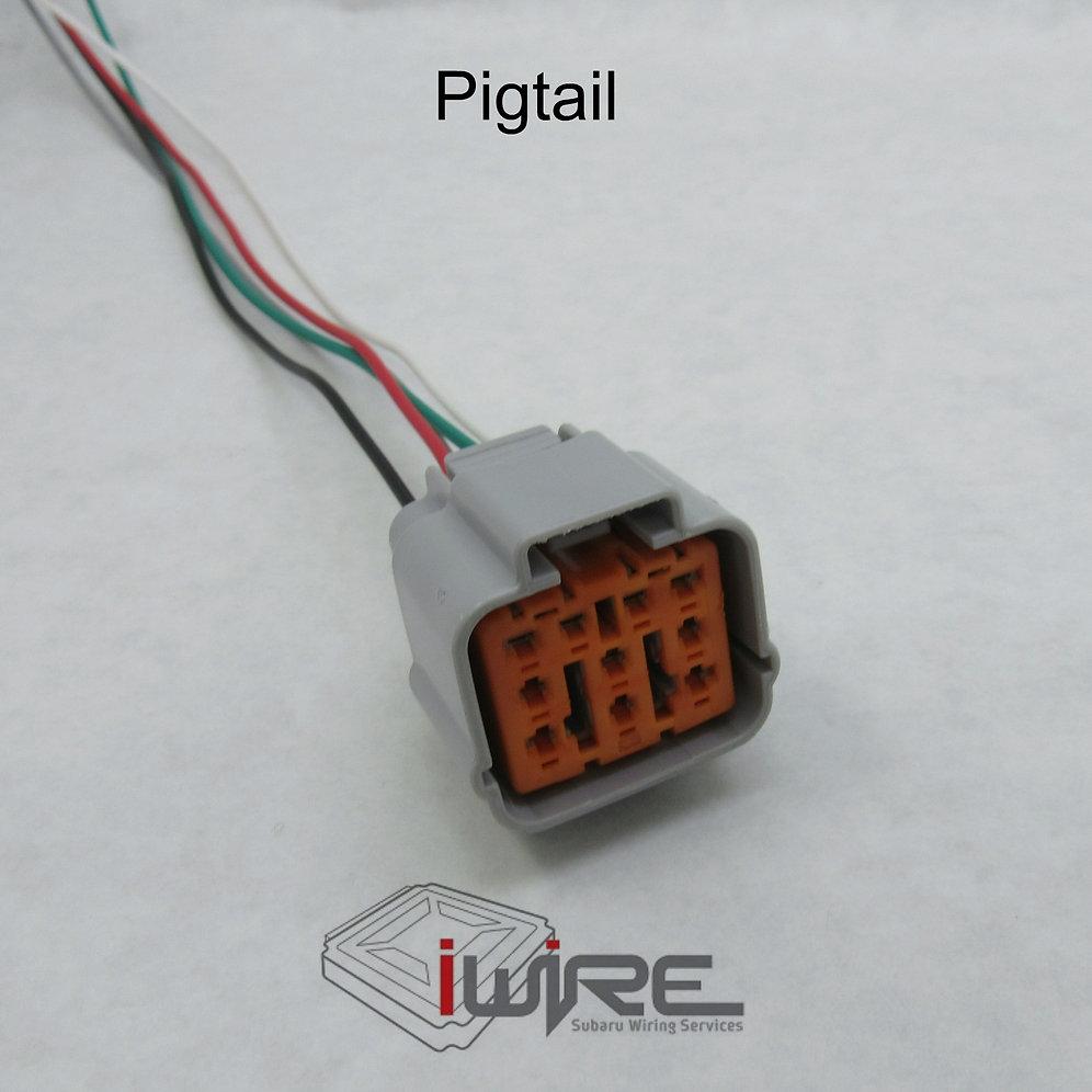 Saab Headlight Plug