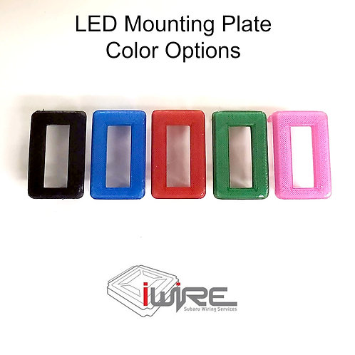 LED Light Strip Mounting Plate Only