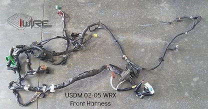 USDM 02-05 WRX Subaru Wiring Harness