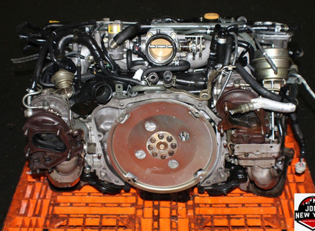 Twin Turbo Engine Subaru Swap