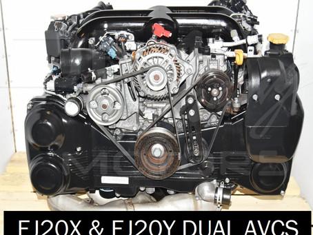 EJ20X and EJ20Y Dual AVCS