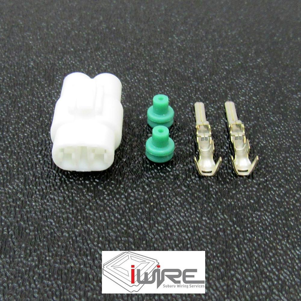 1993 - 2001 Subaru Impreza Fog Light Plug Connector Replacement