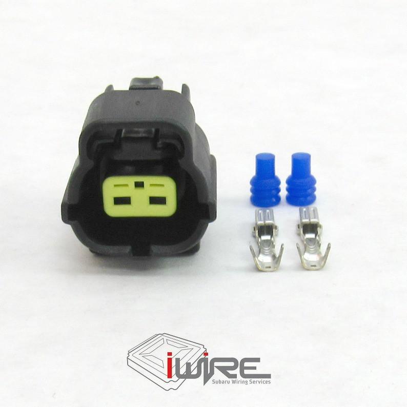 2 pin coolant temperature sensor plug connector OEM replacement