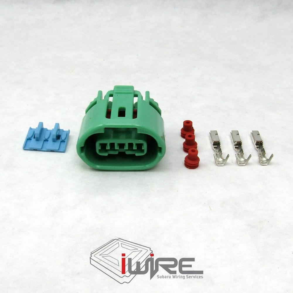 Subaru Alternator Plug Replacement OEM Connector Wiring