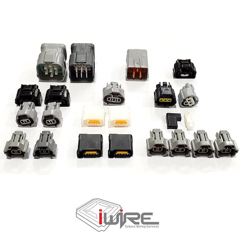 2002-2005 USDM WRX Intake Manifold Harness Connector Package
