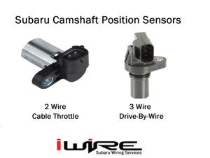 Subaru Camshaft Position Sensor 2 wire vs 3 wire