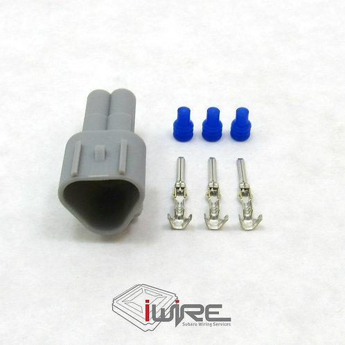 OEM Replacement Coolant Temperature Sensor Receptacle - Earlier Model, Coolant Temp for Subaru