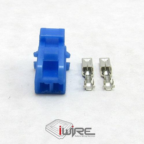 Subaru Cruise clutch switch plug, subaru cruise control, blue 2 pin replacement connector plug