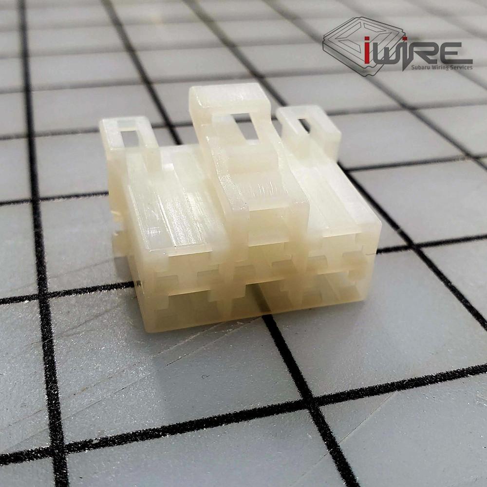 Subaru Blower Motor Plug, Subaru Fan Plug, Subaru AC Plug, Subaru 6 Pin White Plug, Subaru Blower Motor Plug,