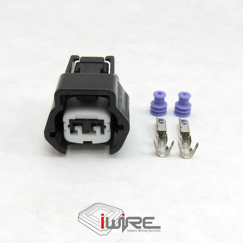 2 pin coolant temperature temp sensor plug OEM replacement connector