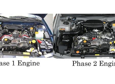 Phase 1 vs Phase 2 Subaru Engine Basics