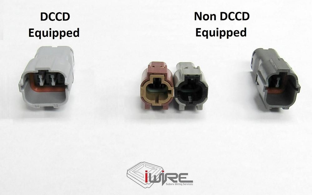 DCCD Transmission Plugs Subaru