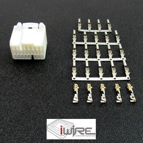 Subaru OEM Replacement 2.0 WRX ECU Plug Connector D Plug