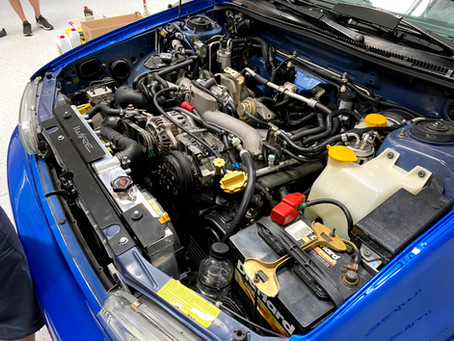 How To Do a Subaru WRX Swap into a RS
