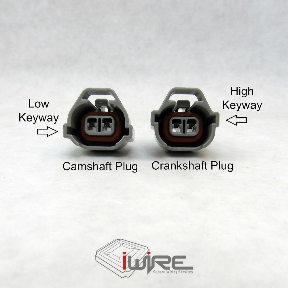 Subaru Camshaft Plug vs Subaru Crankshaft Plug