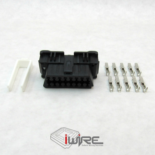 oem replacement subaru obd2 (obdii) port plug connector