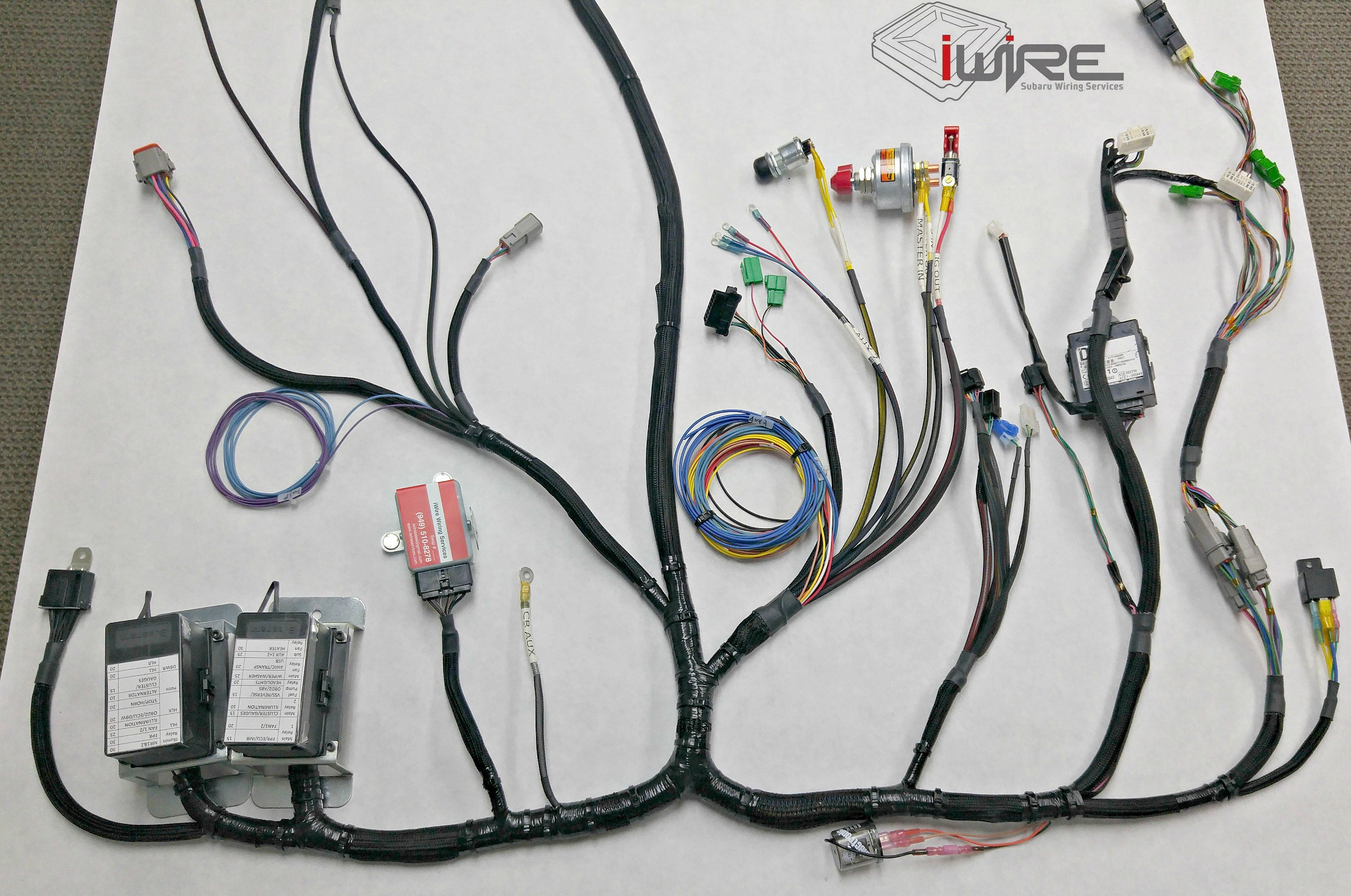 Subaru Wiring Harnesses And Adapters Iwire Services Ecu Harness Adapter Bulkhead Underdash