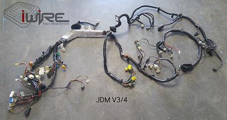 JDM V3/4 Subaru Wiring Harness