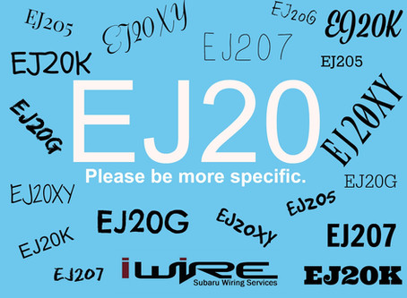 EJ20 - You're Going to Have to Be More Specific