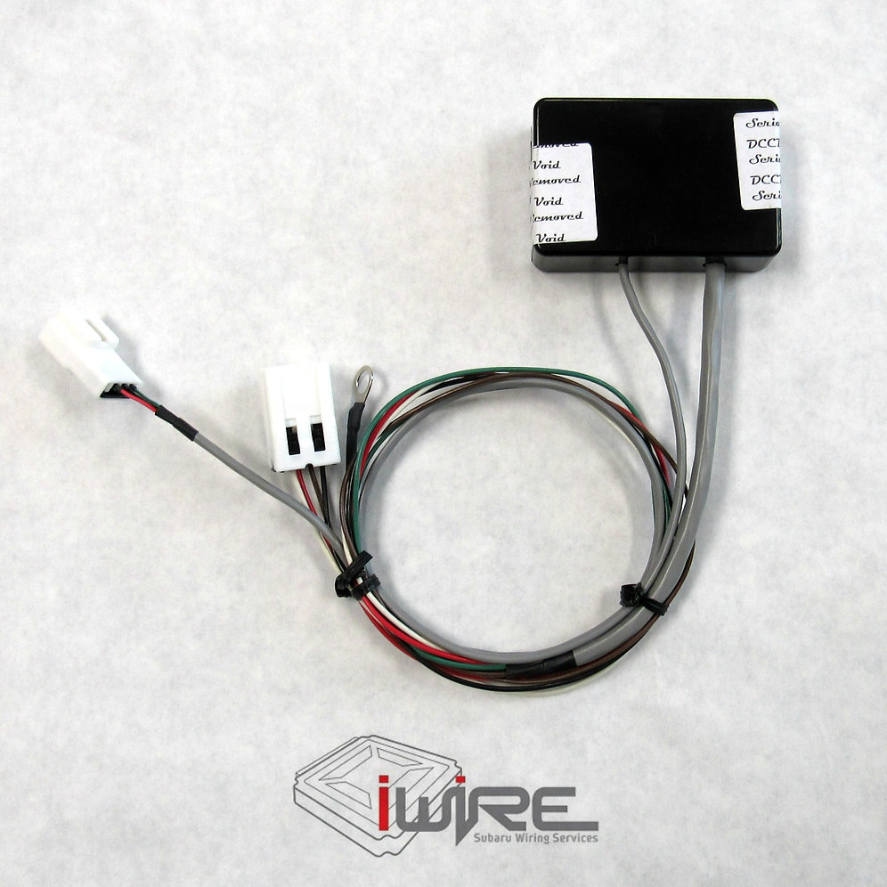 Manual DCCDPro with iWire Plug and Play Harness for Subaru