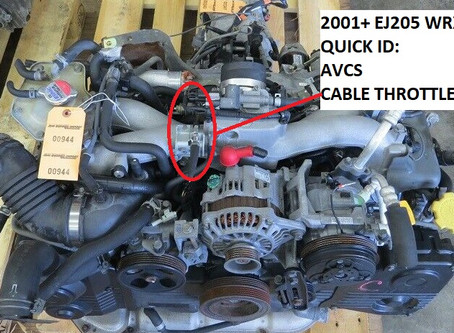 Subaru EJ205 Breakdown