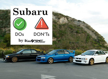 Subaru Project Do's and Don'ts