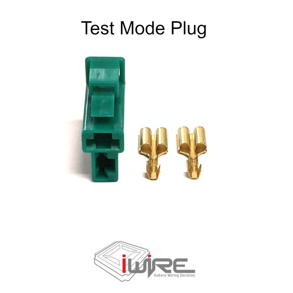 Subaru Test Mode Connector, Subaru 2 pin green plug