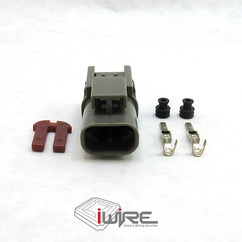 OEM Replacment Connector for Subaru DRL, Daytime Running Light Receptacle