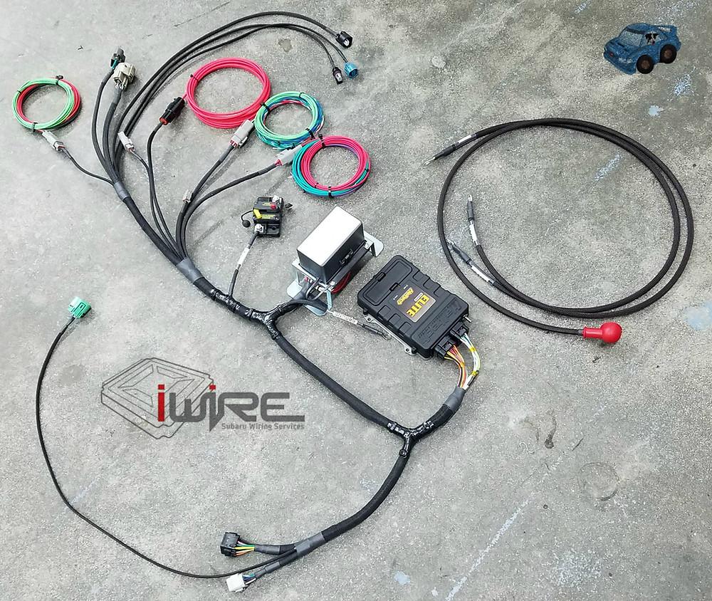 Haltech Elite ECU Custom Wiring