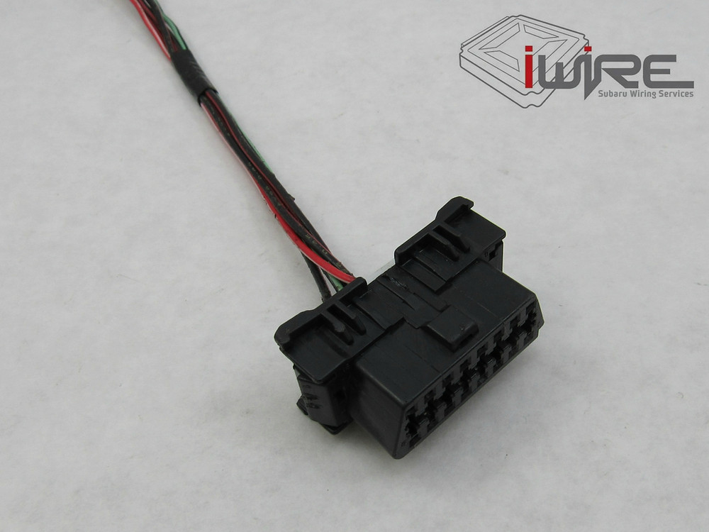 Subaru OBD2 Port Replacement Plug Wiring Connector