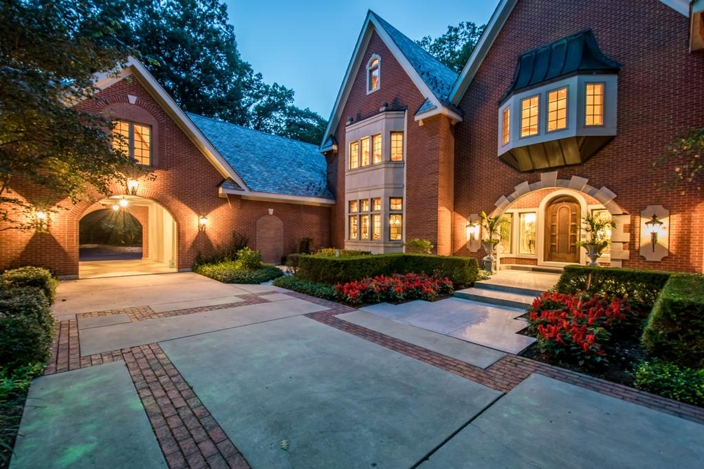 Exterior - Twilight Luxury Home
