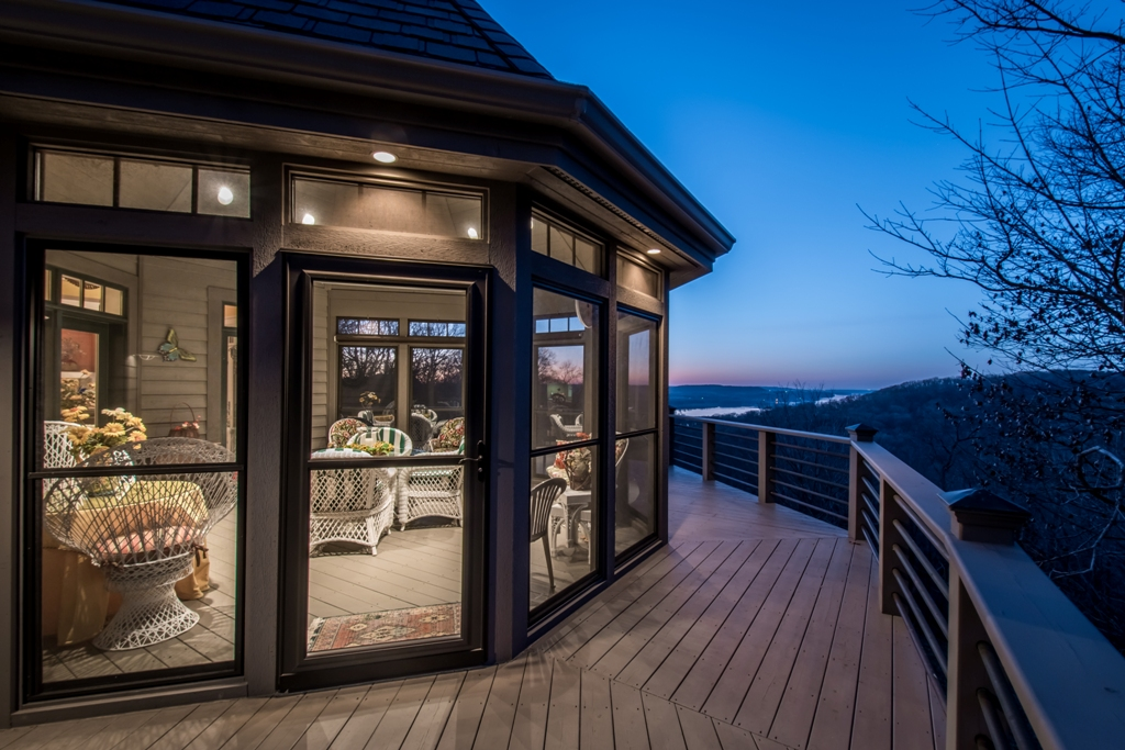 Exterior - Twilight deck