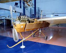 Aeroplano clasico bogota colombia replica construccion