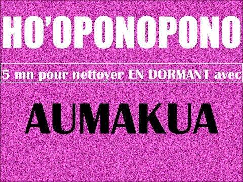 5mn subliminales pour AUMAKUA sur bruit rose. HO'OPONOPONO en dormant !