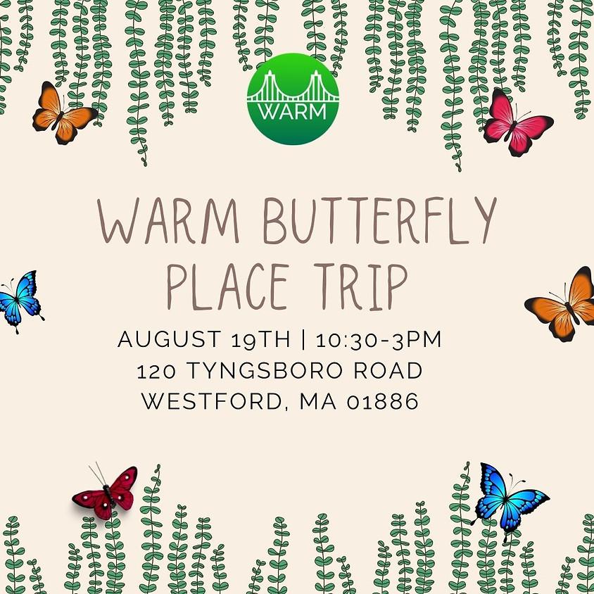 WARM Butterfly Garden Visit