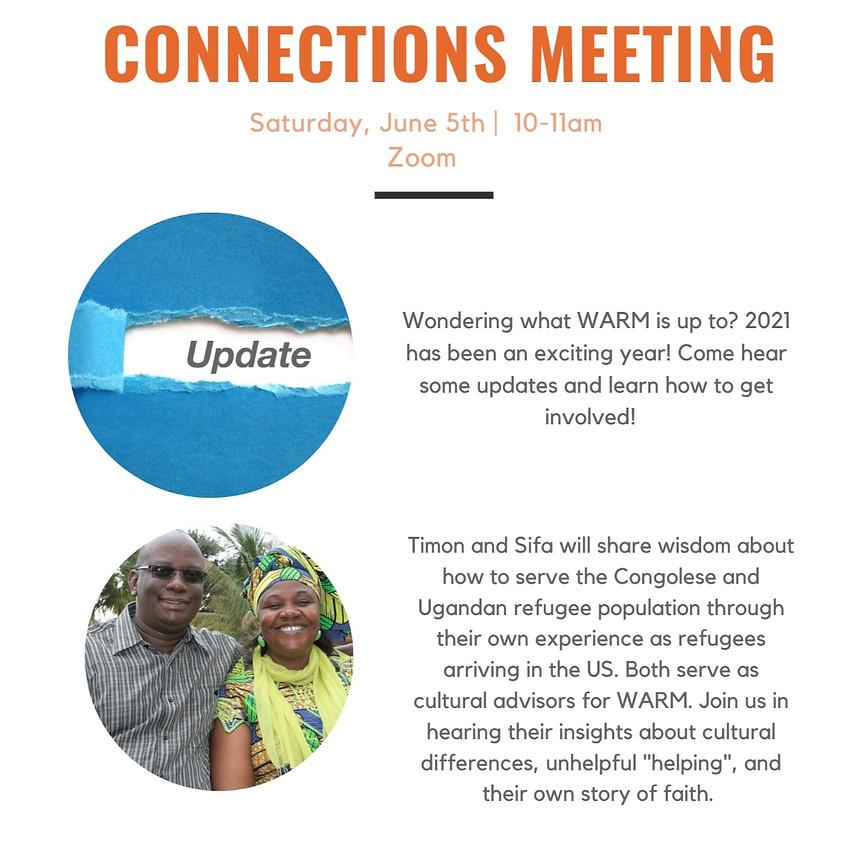 Volunteer Connections Meeting