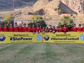 Kashmir Football club announces an all women's team on daughters day